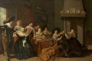 Pieter Jacobs Codde - The Music Party