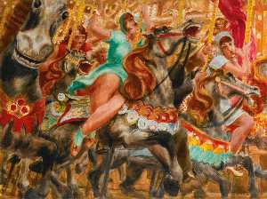 Reginald Marsh - Merry Go Round