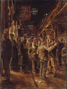 Reginald Marsh - The Bowery