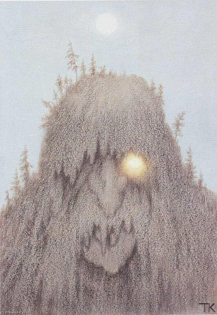 Forest Troll, 1906 by Theodor Kittelsen (1857-1914) | Museum Quality Reproductions | WahooArt.com