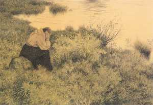 Theodor Kittelsen - Me, me, me, me they will lead far away from the country