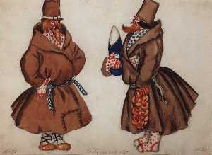 Boris Mikhaylovich Kustodiev - Men from Tula
