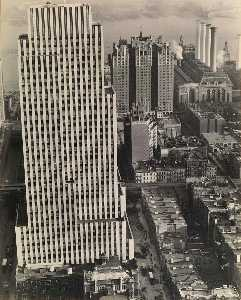 Berenice Abbott - Daily News Building