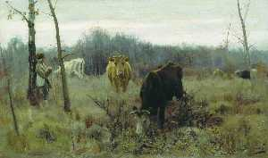Alexei Stepanov - Grazing Cows