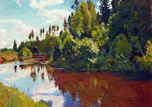 Arkady Rylov - The Mouth of the Orlinka River