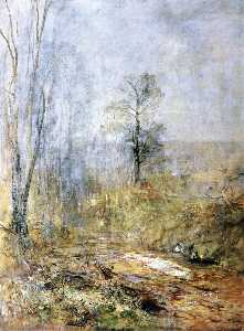 Emil Jacob Schindler - March Atmosphere Early Spring in the Vienna Woods
