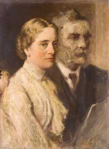 George Agnew Reid - Mr and Mrs Orr Ewing (sketch)
