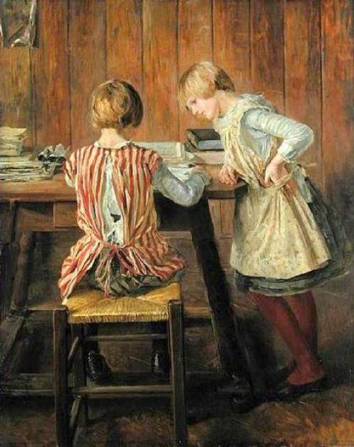 , 1889 by Fritz Von Uhde (1848-1911) | Oil Painting | WahooArt.com