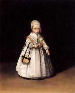 Gerard Ter Borch The Younger - Helena van der Schalcke as a Child