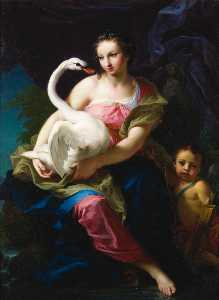 Giambettino Cignaroli - Leda and the swan