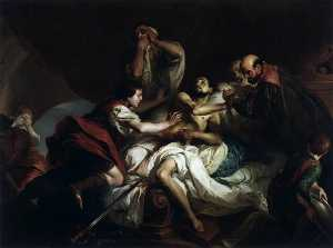 Giambettino Cignaroli - The Death of Cato