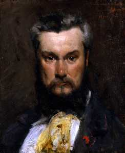 Carolus-Duran (Charles-Auguste-Emile Durand) - Portrait of Hector Hanoteau