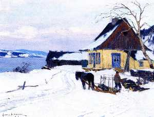 Clarence Alphonse Gagnon - The Farm on the HIll