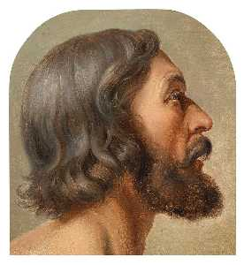 Friedrich Wilhelm Schadow - Head of Jesus