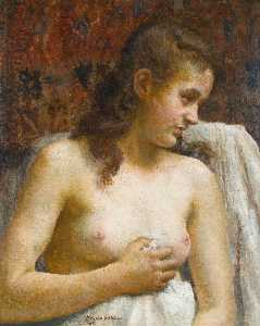 Vlaho Bukovac - In the Boudoir