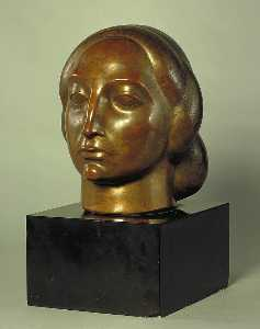 Gaston Lachaise - Head of a Woman