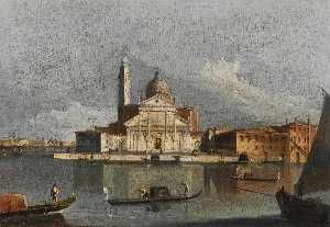 Francesco Tironi - Venice, a view of San Giorgio Maggiore from across the Bacino