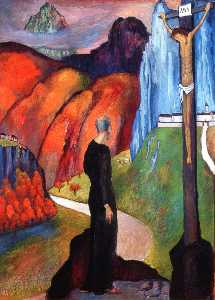 Marianne Von Werefkin - The Monk