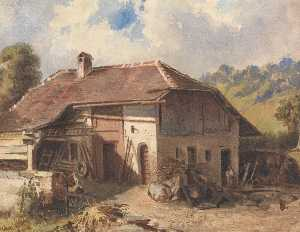 Louis Buvelot - The Homestead