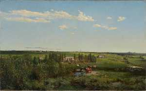 Louis Buvelot - Mount Fyans Homestead