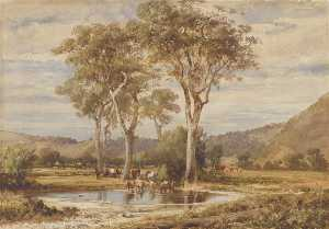 Louis Buvelot - Landscape