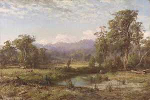 Louis Buvelot - Macedon Ranges