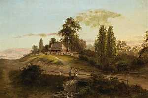 Louis Buvelot - Evening