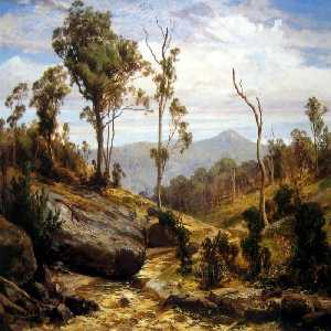 Louis Buvelot - Near Beechworth