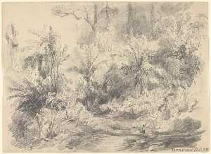 Louis Buvelot - Fernshaw