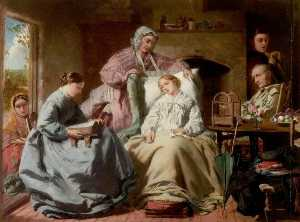 William Powell Frith - The Invalid
