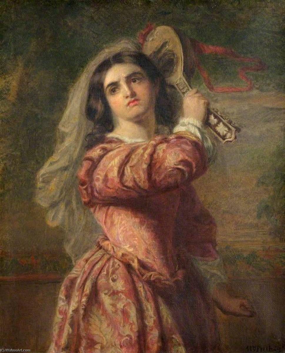 Katharina, Oil On Canvas by William Powell Frith (1819-1909, United Kingdom)