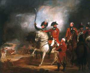 William Beechey - George III and the Prince of Wales