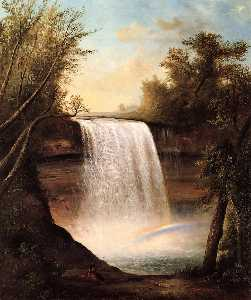 Robert Seldon Duncanson - The Falls of MineHaHa
