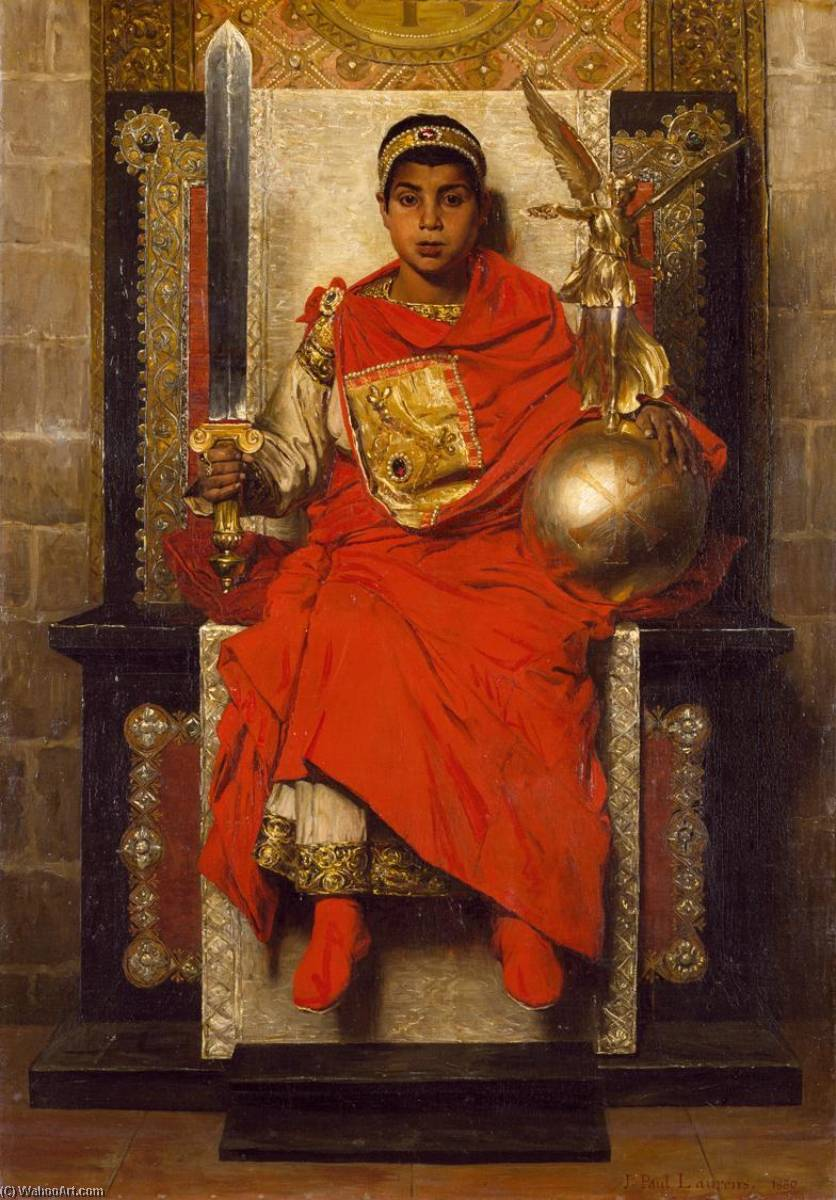 The Late Empire Honorius, 1880 by Jean-Paul Laurens (1838-1921, France) | Museum Quality Reproductions | WahooArt.com