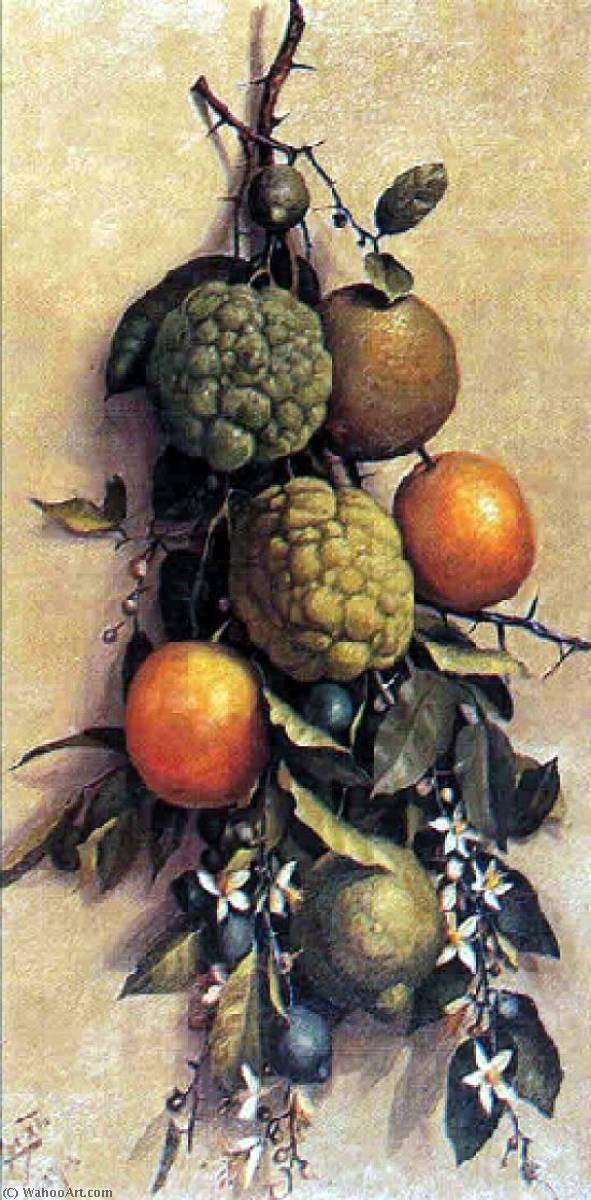 English Fruit Português Frutas, 1904 by Benedito Calixto (1853-1927, Brazil) | Famous Paintings Reproductions | WahooArt.com