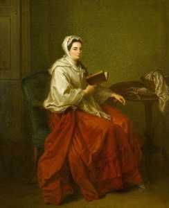 Angelica Kauffman (Maria Anna Angelika) - Mrs Russell, Wife of Colonel Charles Russell