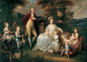 Angelica Kauffman (Maria Anna Angelika) - Ferdinand IV, King Of Naples And Both Sicily, And His Family