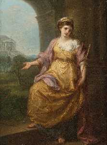 Angelica Kauffman (Maria Anna Angelika) - Female Allegory