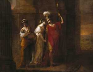 Angelica Kauffman (Maria Anna Angelika) - Hector Taking Leave Of Andromache
