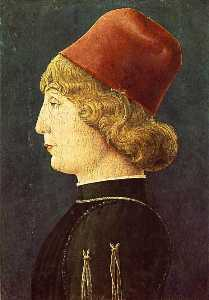 Cosmè Tura - English Portrait of a Young Man