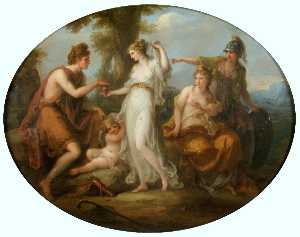 Angelica Kauffman (Maria Anna Angelika) - The Judgement of Paris