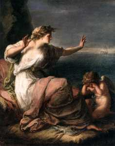 Angelica Kauffman (Maria Anna Angelika) - Ariadne Abandoned by Theseus on Naxos