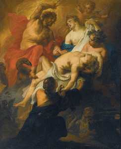 Theodor Van Thulden - The Gods mourning Phaeton