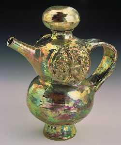 Beatrice Wood - Gold Lustre Teapot