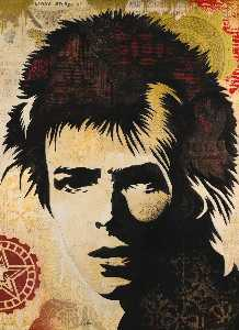 Shepard Fairey - David Bowie