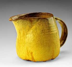 Beatrice Wood - Creamer from the Yellow Luncheon Service for Six