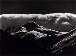 Brett Weston - Untitled (Snow Covered Mountains)