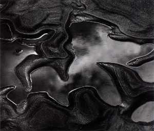 Brett Weston - Untitled (Water Rock)