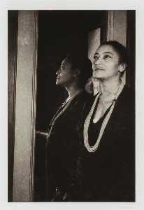 Carl Van Vechten - Rose McClendon, from the unrealized portfolio Noble Black Women The Harlem Renaissance and After