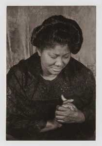 Carl Van Vechten - Mahalia Jackson, from the unrealized portfolio Noble Black Women The Harlem Renaissance and After